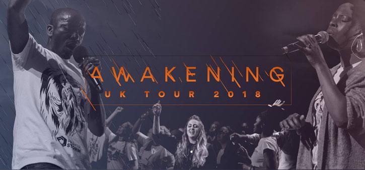 Prayer Storm 'Awakening' UK Tour 2018