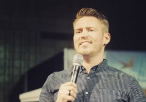 Drew Neal, Senior Leader of Generation ONE, guest speaker at Liberty Church Rotherham