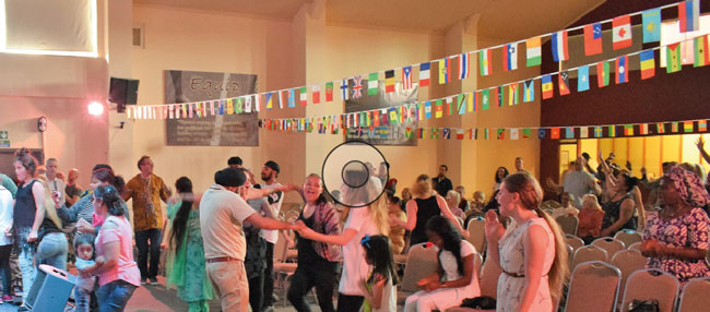 International Night at Liberty Church, Rotherham